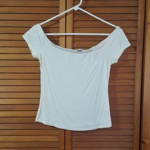 Ambiance Off the Shoulder Ribbed Top